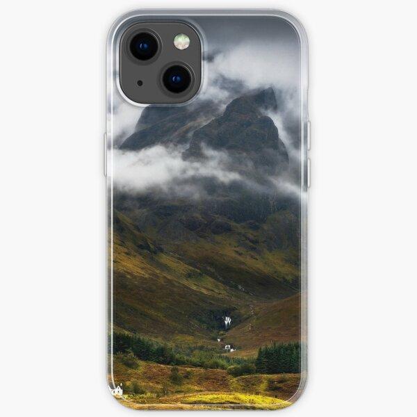 Blaven and Malevolent Weather Isle of Skye Scotland. iPhone Soft Case
