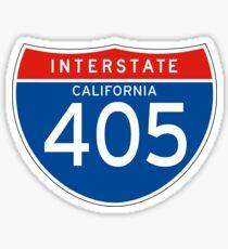 Interstate Sign 405 California, USA Sticker