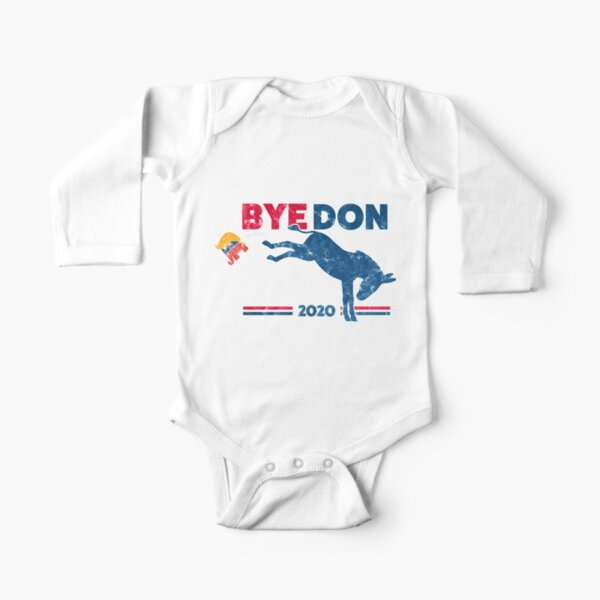 ByeDon - Bye, Bye Donald Trump Long Sleeve Baby One-Piece