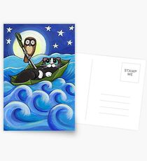 Owl and the Pussycat Postcards