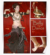 Dance series - Belly Dance Poster