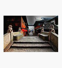 Stone bridge in china Photographic Print