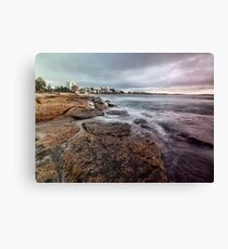 On the Rocks - Cronulla NSW Canvas Print