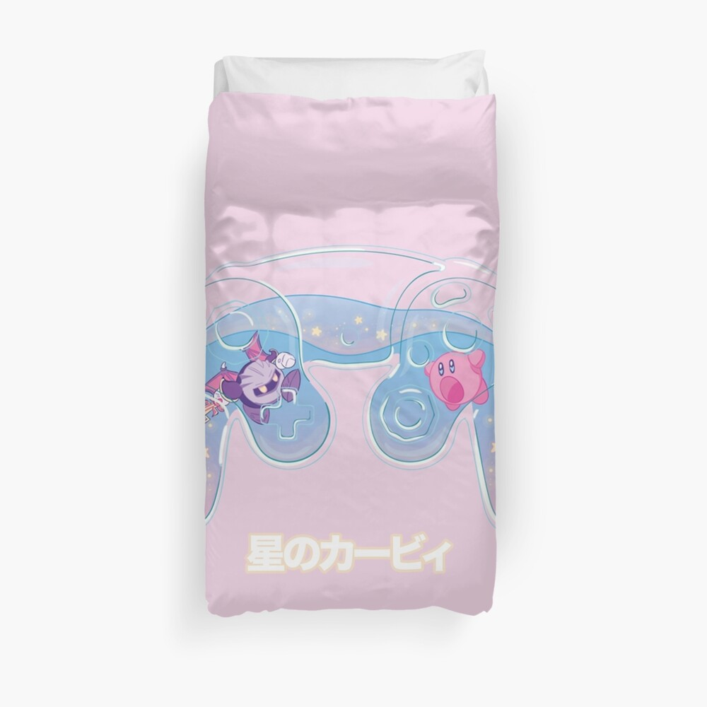 Kirby Game Controller Duvet Cover