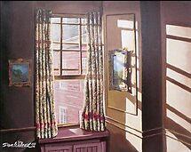 Sunlight thtough widow by Dan Wilcox