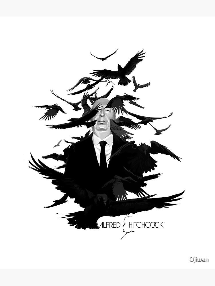 Alfred Hitchcocks The Birds by Ojiwan