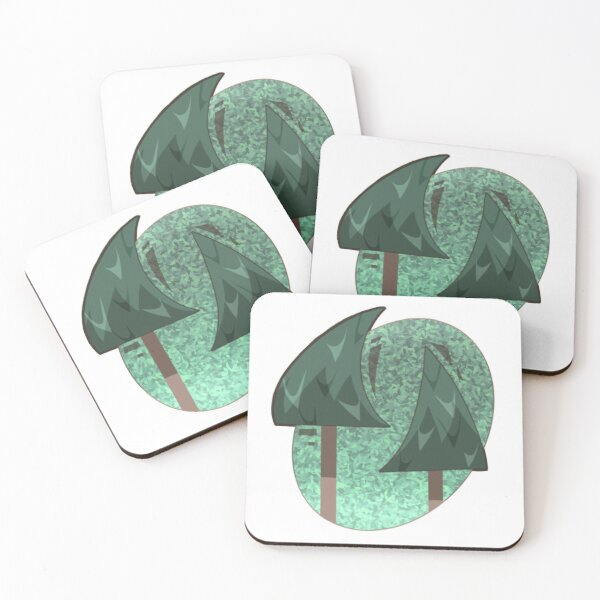 Trees Coasters (Set of 4)