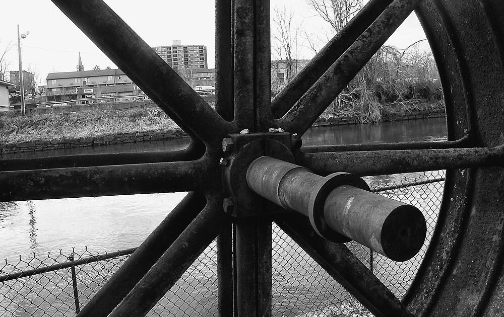 Faded Industrial Age  by John  Kapusta