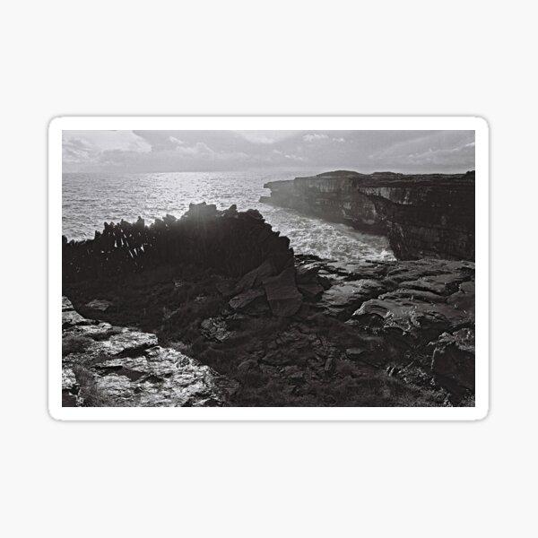 Iron Age fort on Atlantic Coast Sticker