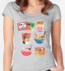 Ramen Women's Fitted Scoop T-Shirt