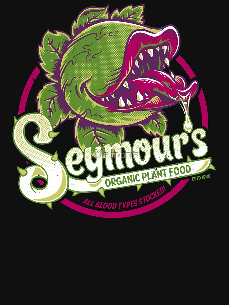 Seymour's Organic Plant Food - teatro musical - vintage - película de culto de Nemons