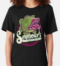 Seymour's Organic Plant Food - musical theatre - vintage - cult movie Slim Fit T-Shirt