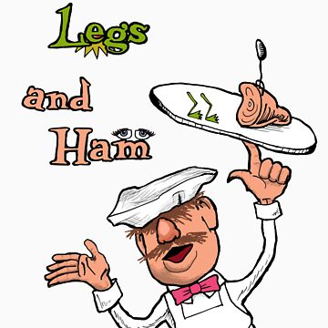 Green Legs and Ham by thunderbloke