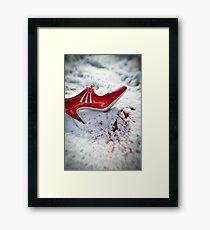 Shoe Framed Print