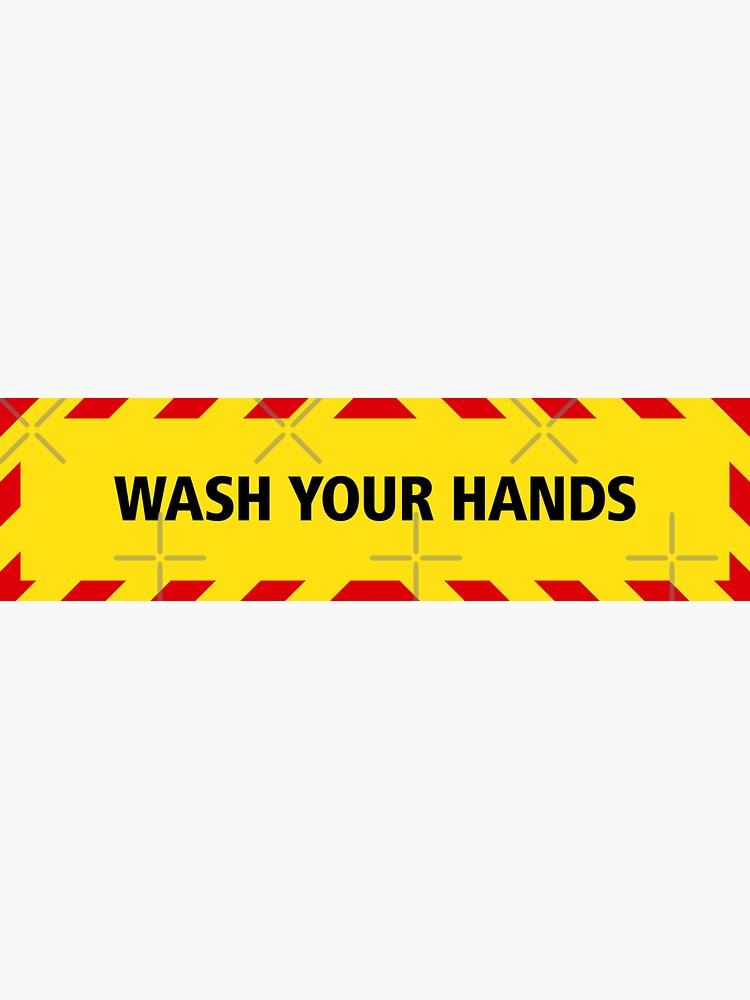 NDVH Wash Your Hands (coronavirus) by nikhorne