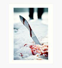 Knife  Art Print