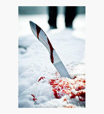 Knife  Photographic Print
