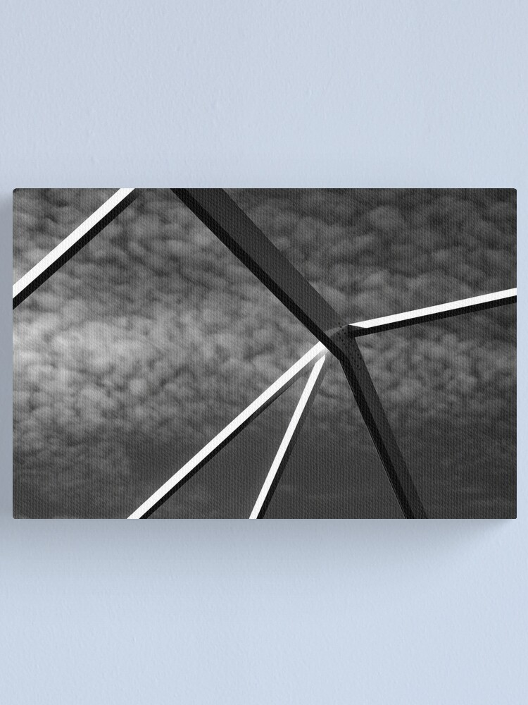 Alternate view of Sky and Trusses, Sarasota 2012 Canvas Print