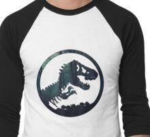 Jurassic Forest Men's Baseball ¾ T-Shirt