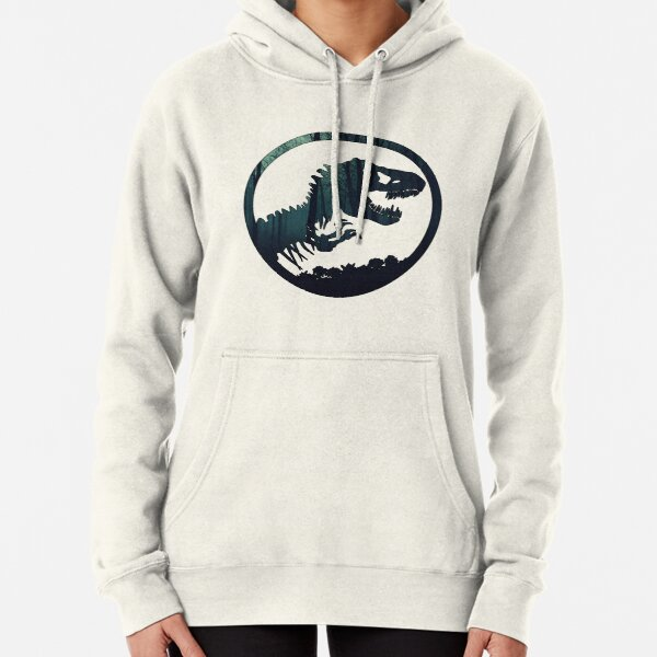 Jurassic Forest Pullover Hoodie