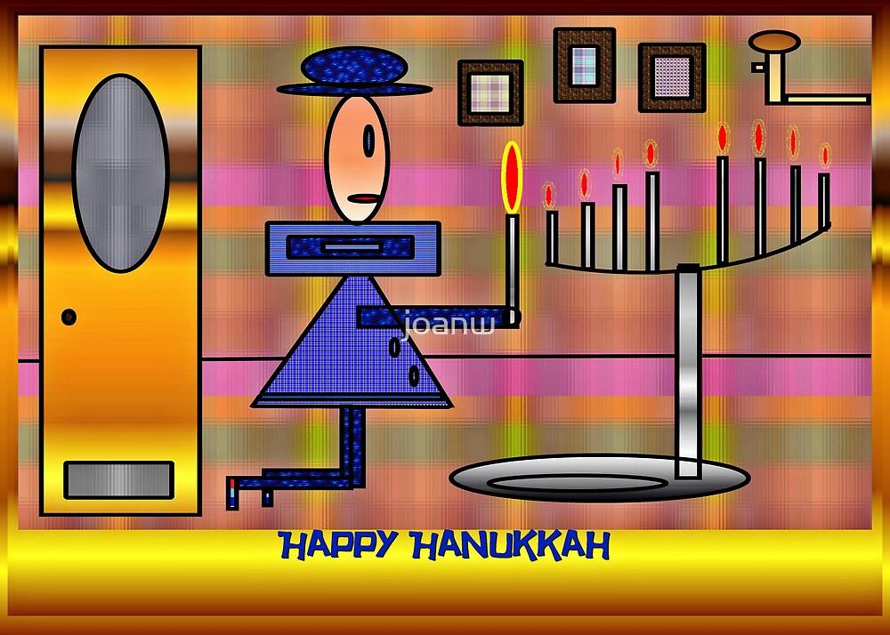 PracPak Hanukkah, Last Night by joanw