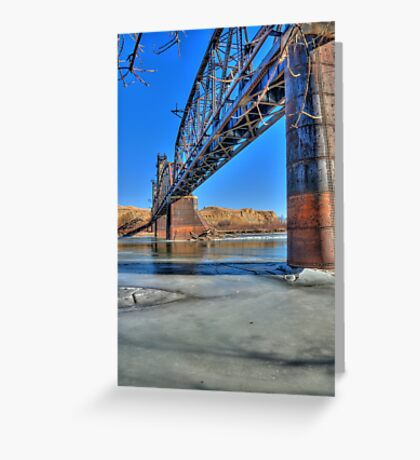 Fairview  Bridge Greeting Card