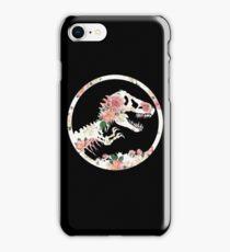 Jurassic Floral iPhone Case/Skin