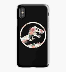 Jurassic Floral iPhone Case