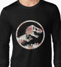 Jurassic Floral Long Sleeve T-Shirt