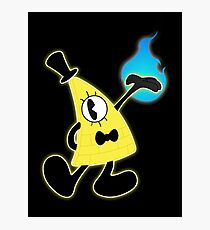 1940's Bill Cipher Photographic Print