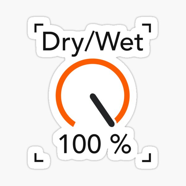 Ableton Live 100% Wet Sticker