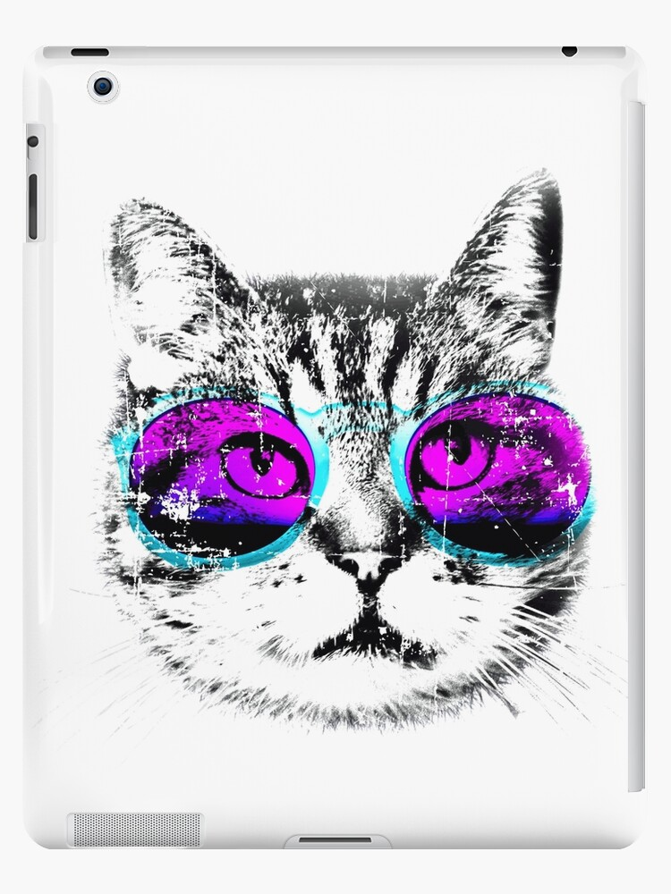 All Models Available The Retro Cats with Accessories Skin Set for the Apple iPad