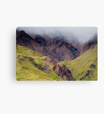 Low Clouds Canvas Print