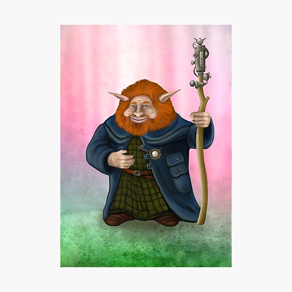 Gwildor of Thenur, locksmith and inventor Photographic Print