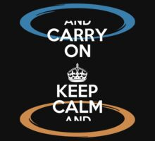 KEEP CALM AND CARRY ON portal parody