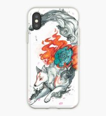 Watercolor Okami iPhone Case