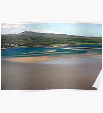 Sweeping Sands, Kyle of Tongue, Sutherland Poster