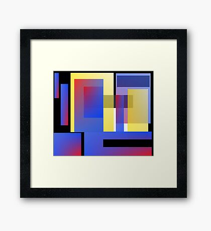 In and Out Framed Print