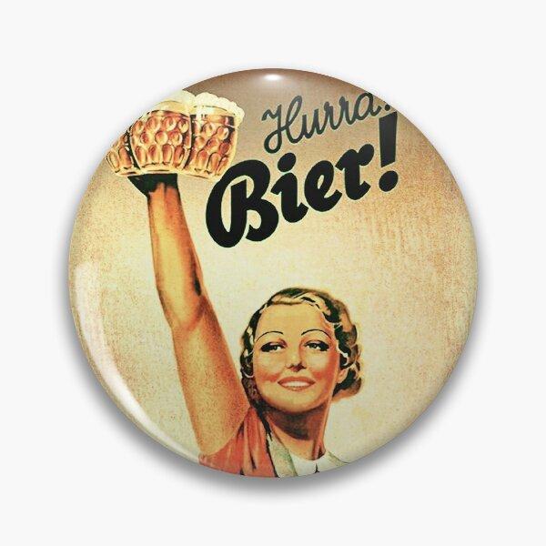 Vintage 1930s Oktoberfest Hurra Bier  Pin