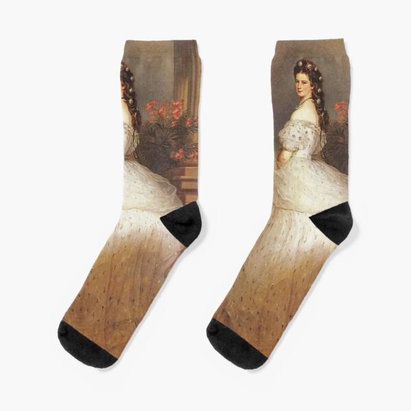 "Empress ""Sissy""...Elizabeth of Austria by Winterhalter Socks"