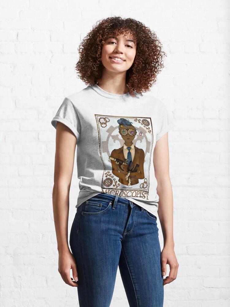 Alternate view of Microscopist (SteamPunk Art) Classic T-Shirt