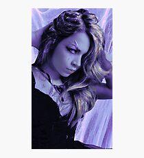 Violet Vixen Photographic Print