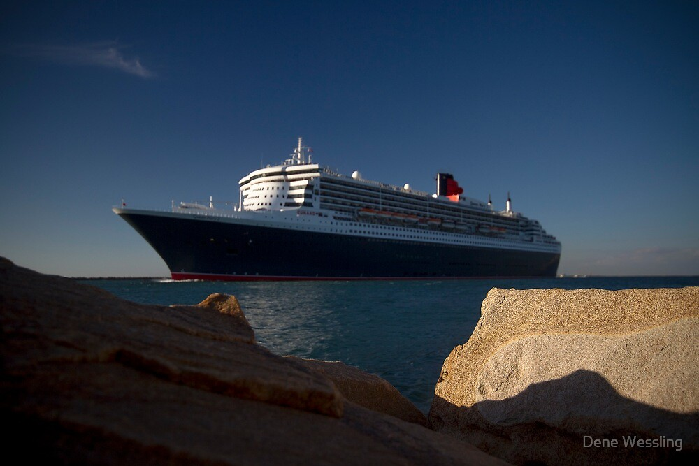 Queen Mary 2  by Dene Wessling