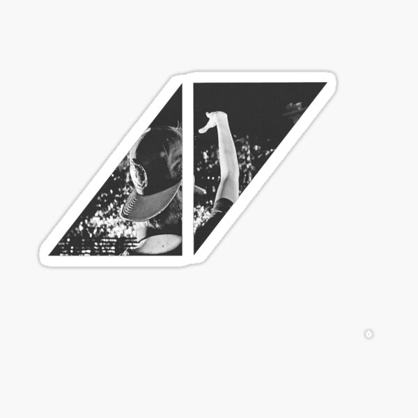 Avicii - Logo Pegatina