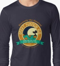 It's the Great Pumpkin Ale Charlie Brown Long Sleeve T-Shirt