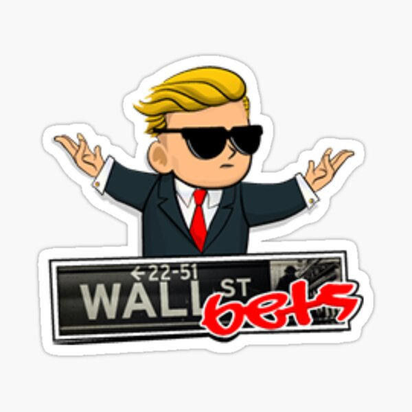 Wall Street Bets Sticker