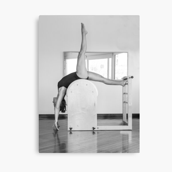 Pure Pilates with your teacher Ivana. Look great in Ibiza Canvas Print