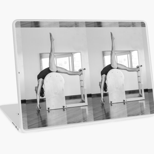 Pure Pilates with your teacher Ivana. Look great in Ibiza Laptop Skin