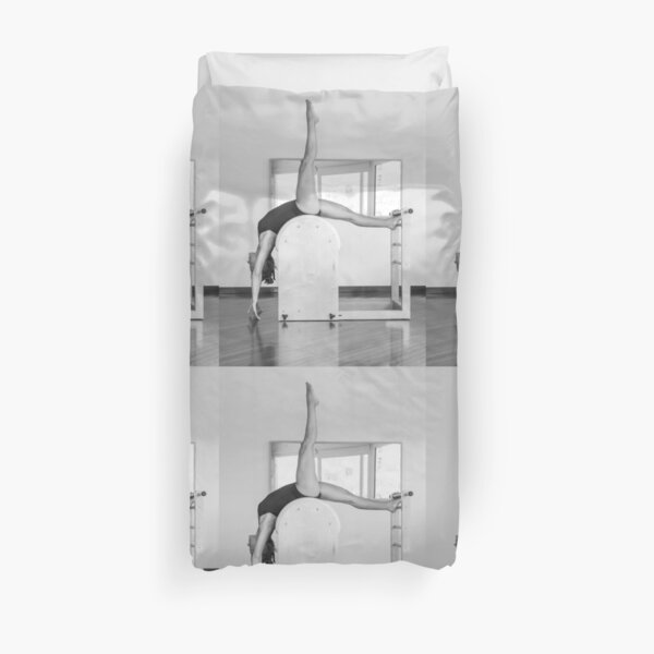 Pure Pilates with your teacher Ivana. Look great in Ibiza Duvet Cover
