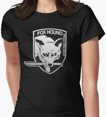Fox Hound Special Force Group Women's Fitted T-Shirt